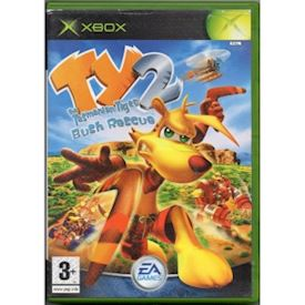 TY THE TASMANIAN TIGER 2 BUSH RESCUE XBOX