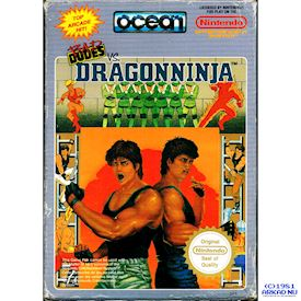 BAD DUDES VS DRAGONNINJA NES