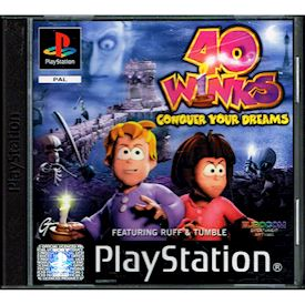 40 WINKS CONQUER YOUR DREAMS PS1