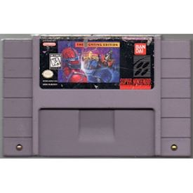 MIGHTY MORPHIN POWER RANGERS THE FIGHTING EDITION SNES NTSC
