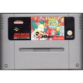 KRUSTYS SUPER FUN HOUSE SNES
