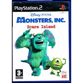MONSTERS INC SCARE ISLAND PS2