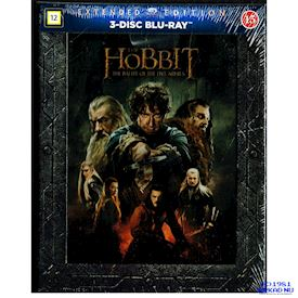 THE HOBBIT THE BATTLE OF THE FIVE ARMIES EXTENDED EDITION BLU-RAY
