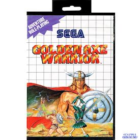 GOLDEN AXE WARRIOR MASTER SYSTEM