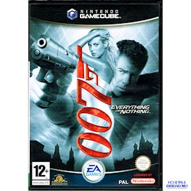007 EVERYTHING OR NOTHING GAMECUBE
