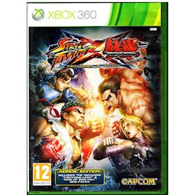 STREET FIGHTER X TEKKEN NORDIC EDITION XBOX 360