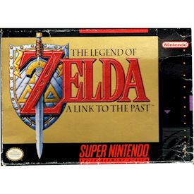 ZELDA A LINK TO THE PAST SNES NTSC