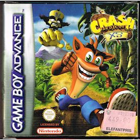 CRASH BANDICOOT XS GBA