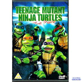 TEENAGE MUTANT NINJA TURTLES THE MOVIE DVD
