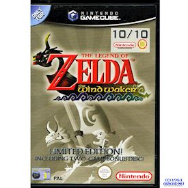THE LEGEND OF ZELDA THE WIND WAKER GAMECUBE LIMITED EDITION GAMECUBE
