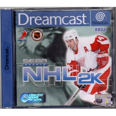 SEGA SPORTS NHL 2K DREAMCAST