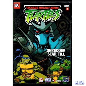 TEENAGE MUTANT NINJA TURTLES SHREDDER SLÅR TILL DVD