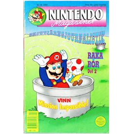 NINTENDO MAGASINET NR 10 1991