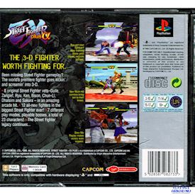 STREET FIGHTER EX PLUS ALPHA PS1