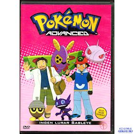 POKEMON ADVANCED INGEN LURAR SABLEYE DVD