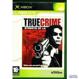 TRUE CRIME STREETS OF LA XBOX