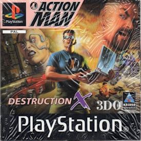 ACTION MAN DESTRUCTION X  PS1
