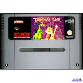 DRAGONS LAIR SNES SCN