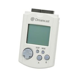 VISUAL MEMORY UNIT WHITE DREAMCAST