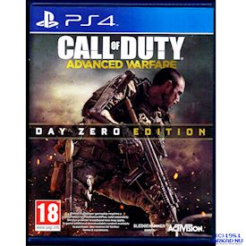 CALL OF DUTY ADVANCED WARFARE DAY ZERO EDITION PS4