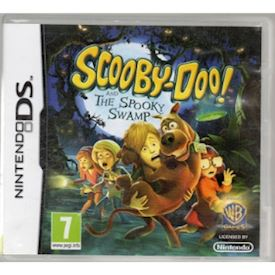 SCOOBY DOO AND THE SPOOKY SWAMP DS