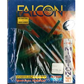 FALCON THE MISSION DISKS VOL 1 AMIGA