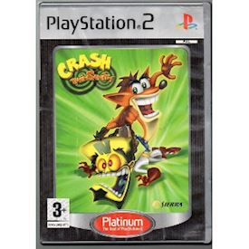 CRASH TWINSANITY PS2