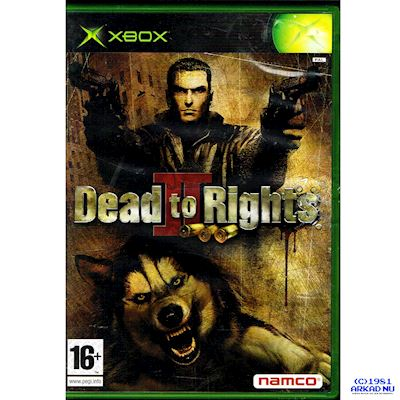 DEAD TO RIGHTS II XBOX