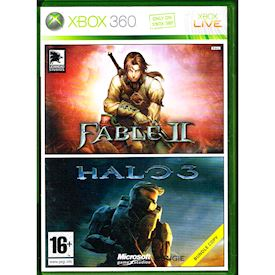 FABLE II + HALO 3 BUNDLE PACK XBOX 360
