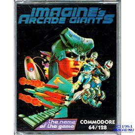 IMAGINES ARCADE GIANTS C64 KASSETT