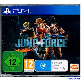 JUMP FORCE PROMO PS4