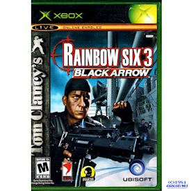 TOM CLANCYS RAINBOW SIX 3 BLACK ARROW XBOX NTSC USA