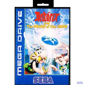 ASTERIX AND THE POWER OF THE GODS MEGADRIVE