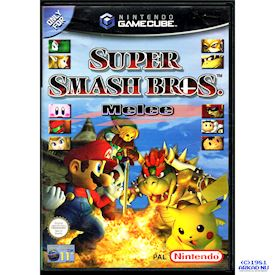 SUPER SMASH BROS MELEE GAMECUBE