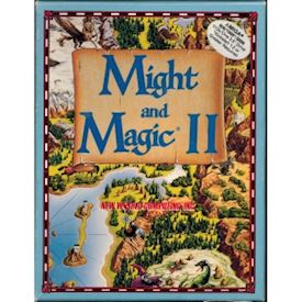 MIGHT AND MAGIC II AMIGA