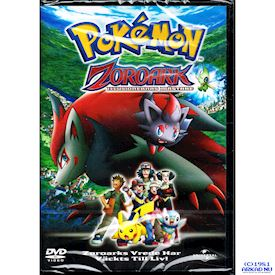 POKEMON ZOROARK ILLUSIONERNAS MÄSTARE DVD