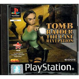 TOMB RAIDER THE LAST REVELATION PS1
