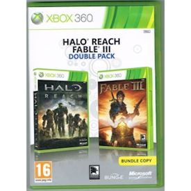HALO REACH + FABLE III DOUBLEPACK XBOX 360