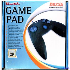 LOGITECH DEXXA THROTTLE GAMEPAD RETRO PC