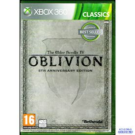 THE ELDER SCROLLS IV OBLIVION 5TH ANNIVERSARY EDITION XBOX 360