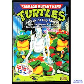 TEENAGE MUTANT HERO TURTLES ATTACK OF BIG MACC 5/7 DVD