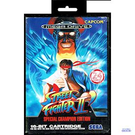 STREET FIGHTER II SPECIAL CHAMPION EDITION MEGADRIVE