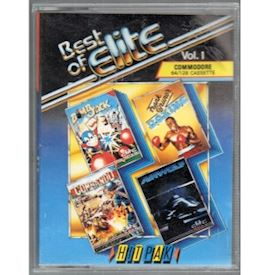 BEST OF ELITE VOL 1 C64 TAPE