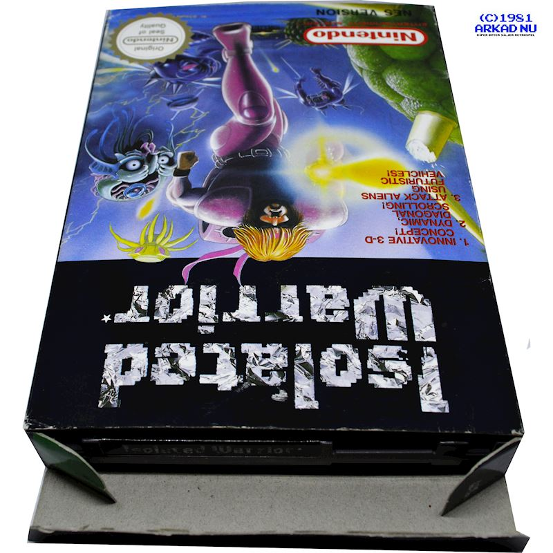 ISOLATED WARRIOR NES PAL-A