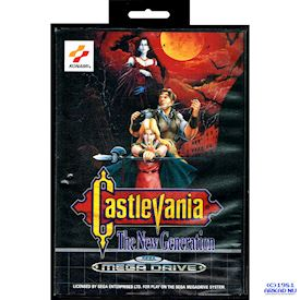 CASTLEVANIA THE NEW GENERATION MEGADRIVE