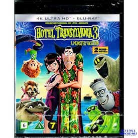 HOTEL TRANSYLVANIA 3 A MONSTER VACATION 4K ULTRA HD + BLU-RAY
