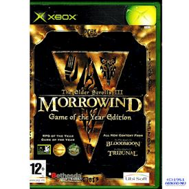 THE ELDER SCROLLS III MORROWIND GAME OF THE YEAR EDITION XBOX