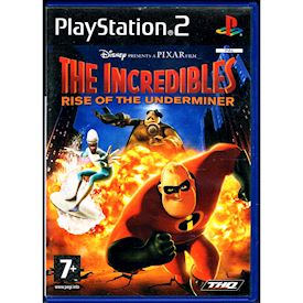 THE INCREDIBLES RISE OF THE UNDERMINER PS2