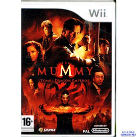 MUMMY TOMB OF THE DRAGON EMPEROR WII