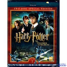 HARRY POTTER AND THE CHAMBER OF SECRETS  YEAR 2 SPECIAL EDITION BLU-RAY
